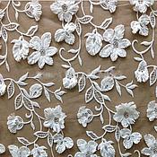 Ткани ручной работы. Ярмарка Мастеров - ручная работа Роскошная 3 D ткань 8. Handmade.