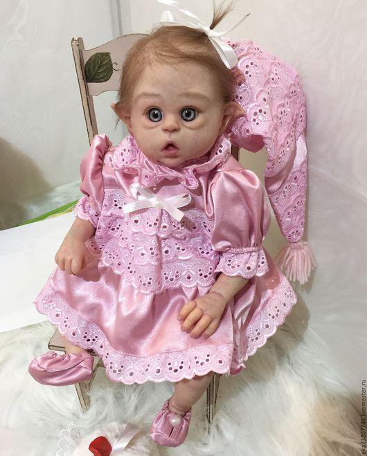Куклы-младенцы и reborn ручной работы. Ярмарка Мастеров - ручная работа. Купить Эльфик Офелия. Handmade. Кукла, молд офелия
