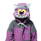 Субкультуры handmade. Livemaster - original item Cheshire Cat Kigurumi - Custom Handmade - Anti-pill Fleece Pyjamas. Handmade.