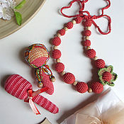 Подарки к праздникам ручной работы. Ярмарка Мастеров - ручная работа Подарочный набор №23 для мамы с малышом. Handmade.