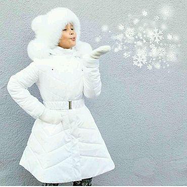 """Одежда ручной работы. Ярмарка Мастеров - ручная работа Зимний комплект """"Боярыня"""": пальто и шапка. Handmade."""