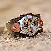 ручной работы. Ярмарка Мастеров - ручная работа Наручные механические часы Traveller. Handmade.