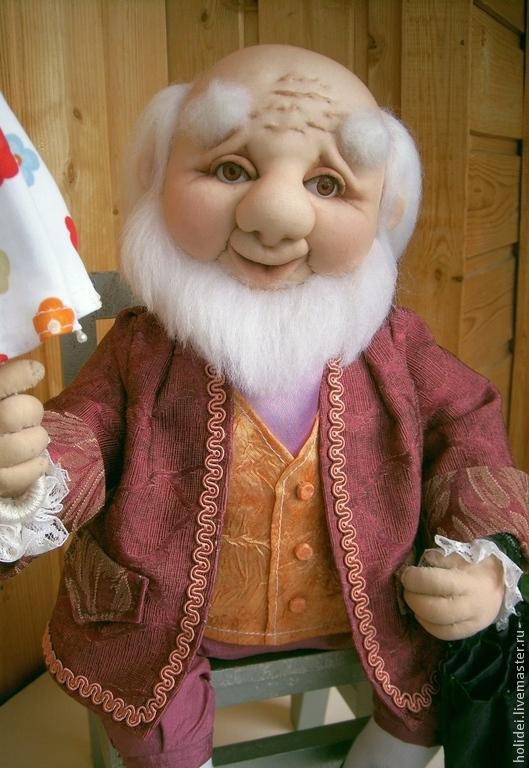 Мастер класс портретных чулочных кукол