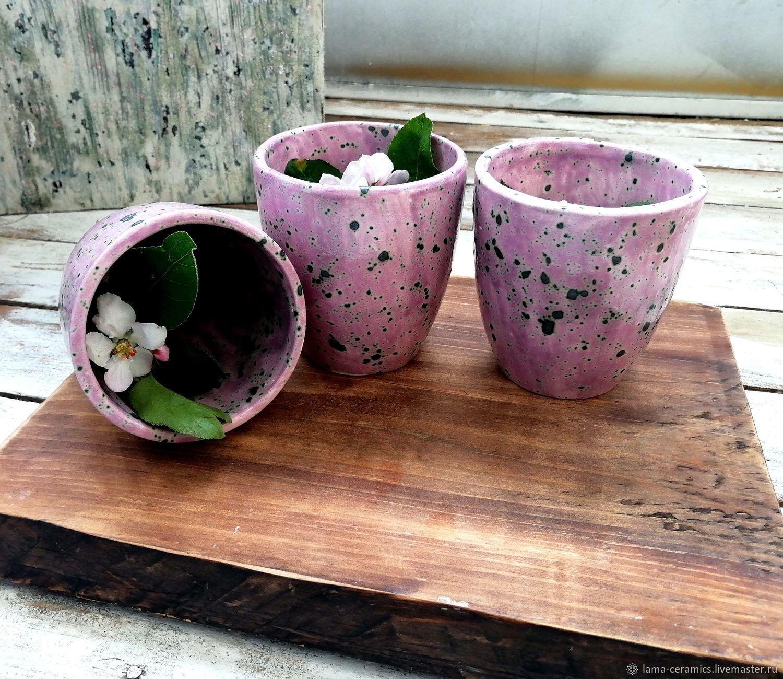 Чайник, чайный сервиз, набор посуды для чая из глины