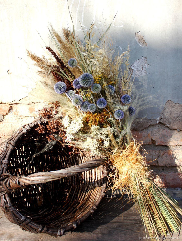 """Букет из сухоцветов """"ведьмины прогулки"""" БОХО, Букеты, Лениногорск,  Фото №1"""