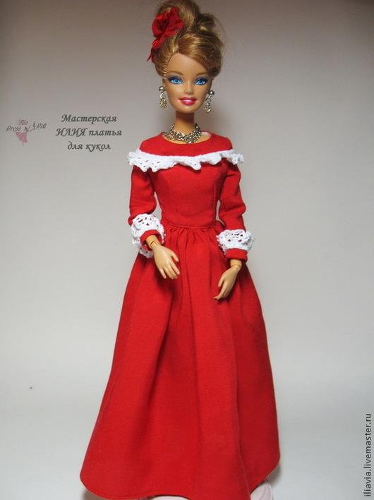 Одежда для кукол ручной работы. Ярмарка Мастеров - ручная работа. Купить Кукольное платье Джулия. Handmade. Платье для кукол, батист