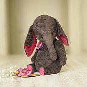 """Куклы и игрушки ручной работы. Ярмарка Мастеров - ручная работа Слоник """"Софи""""  27 см. Handmade."""
