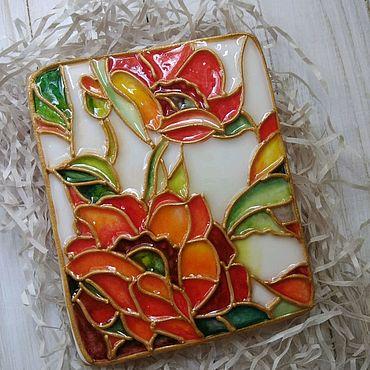 Сувениры и подарки ручной работы. Ярмарка Мастеров - ручная работа Имбирный пряник цветы. Handmade.