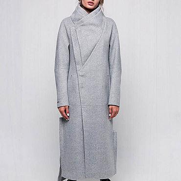 Одежда ручной работы. Ярмарка Мастеров - ручная работа Зимнее пальто длинное 45П. Handmade.
