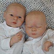 Куклы и игрушки ручной работы. Ярмарка Мастеров - ручная работа двойняшки Гена и Габриэль. Handmade.