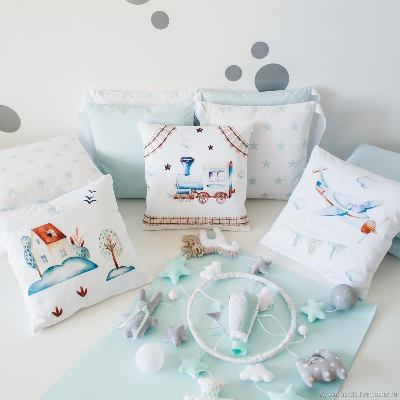 Set in a crib for a newborn 'Transport', Linen in the crib, Krasnoyarsk,  Фото №1