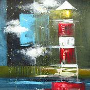 Картины и панно ручной работы. Ярмарка Мастеров - ручная работа Всем нужен личный маяк. Handmade.