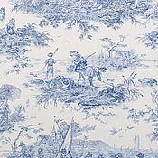 Материалы для творчества ручной работы. Ярмарка Мастеров - ручная работа Ткань для штор 280 см 100% хлопок Франция жуи. Handmade.