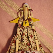 Куклы и игрушки ручной работы. Ярмарка Мастеров - ручная работа Ангел А у нас в Питере лето ;-). Handmade.