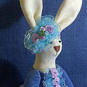 """Куклы и игрушки ручной работы. Ярмарка Мастеров - ручная работа Текстильная зайка """" 2 """". Handmade."""