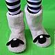 """Обувь ручной работы. Ярмарка Мастеров - ручная работа. Купить Домашние угги """"Барашек Шон"""". Handmade. Белый, домашние угги"""
