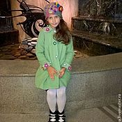 Работы для детей, handmade. Livemaster - original item Coat children`s