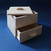 Для дома и интерьера handmade. Livemaster - original item box with a drawer. Handmade.