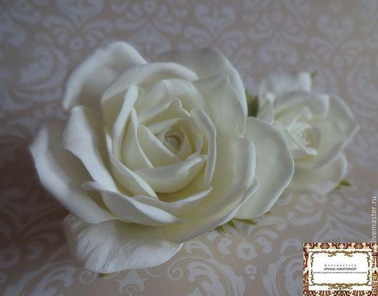 розы из пластичной замши