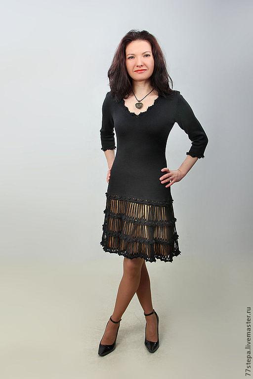 Платья ручной работы. Ярмарка Мастеров - ручная работа. Купить Платье вязаное 4488. Handmade. Платье, платье летнее