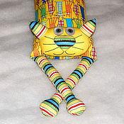 """Для дома и интерьера ручной работы. Ярмарка Мастеров - ручная работа Игрушка-подушка """"Радужный кот"""" безумные кошки. Handmade."""