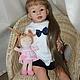 Куклы-младенцы и reborn ручной работы. Ярмарка Мастеров - ручная работа. Купить Влада-кукла реборн. Handmade. Бежевый, стекло