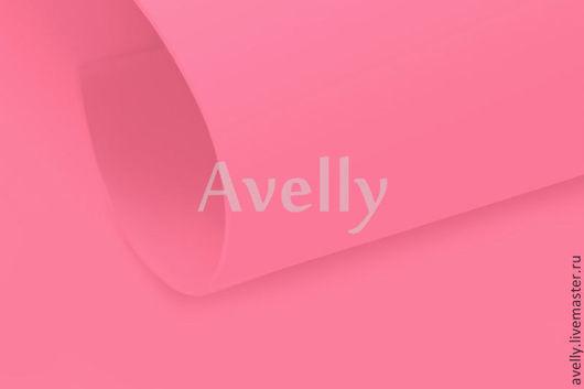 Другие виды рукоделия ручной работы. Ярмарка Мастеров - ручная работа. Купить Фоамиран корейский, цвет розовый, 60х80 см, КФМ09. Handmade.