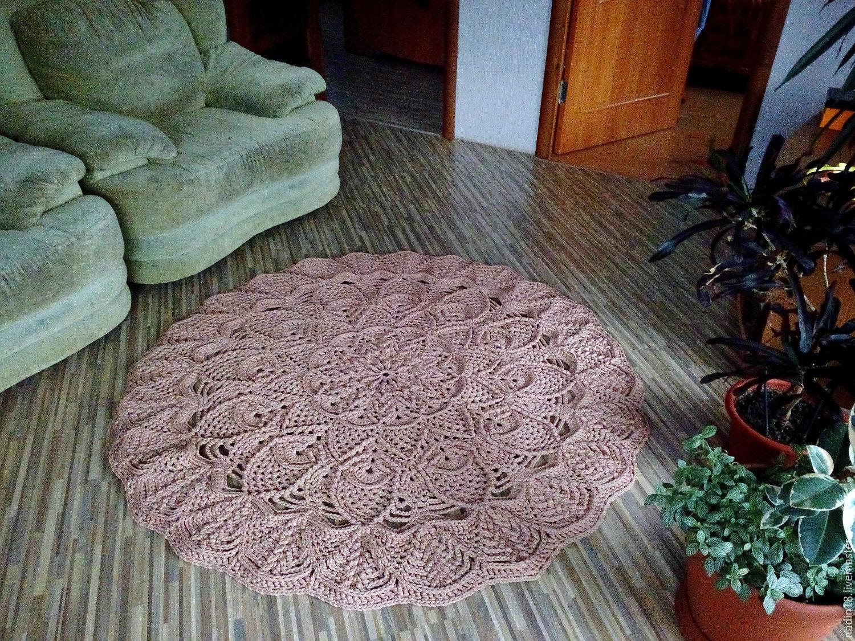 Фото ковры из шнура своими руками