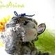Милая, кокетливая овечка Тая - прекрасный подарок  к любому празднику. Глядя на нее невозможно не улыбнуться .