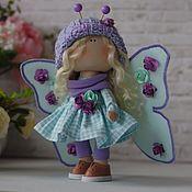 Куклы и игрушки handmade. Livemaster - original item Doll Butterfly. Handmade.