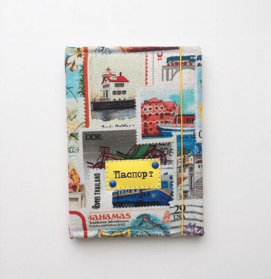 Обложки ручной работы. Ярмарка Мастеров - ручная работа. Купить Обложка для паспорта - коллекция Марки. Handmade. Обложка на паспорт