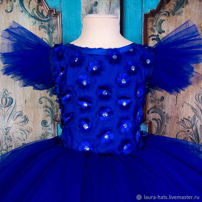 Нарядное платье для девочки на выпускной Детское, пышное платье