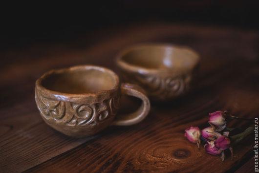 Кружки и чашки ручной работы. Ярмарка Мастеров - ручная работа. Купить Про камни, у которых своя история. Handmade. Бежевый