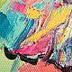 """Животные ручной работы. """"Жил на Свете Розовый Слон"""" картина маслом. ЯРКИЕ КАРТИНЫ Наталии Ширяевой. Ярмарка Мастеров."""