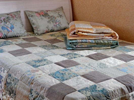 Текстиль, ковры ручной работы. Ярмарка Мастеров - ручная работа. Купить Покрывало. Handmade. Разноцветный, покрывало на кровать, уютный дом
