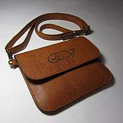 Сумки и аксессуары handmade. Livemaster - original item Small red purse with engraved. Handbag envelope.. Handmade.