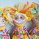 Коллекционные куклы ручной работы. Ярмарка Мастеров - ручная работа. Купить где Восьмая Марта ;). Handmade. Желтый, voodoonadka
