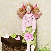 Куклы и игрушки ручной работы. Ярмарка Мастеров - ручная работа Тильда Ангел Хранительница домашнего уюта. Handmade.