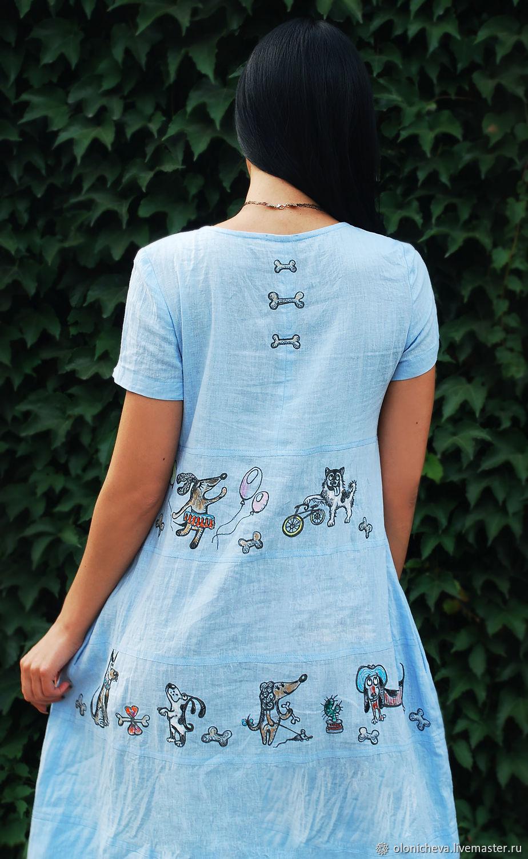 6924abd95d322 Платья ручной работы. Заказать Оригинальное льняное платье