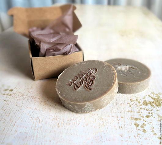Мыло ручной работы. Ярмарка Мастеров - ручная работа. Купить Дегтярное, натуральное мыло. Handmade. Коричневый, дегтярное мыло