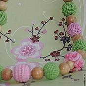 """Одежда ручной работы. Ярмарка Мастеров - ручная работа Слингобусы """"Когда яблони цветут"""". Handmade."""