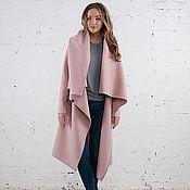 Одежда ручной работы. Ярмарка Мастеров - ручная работа Пальто-трансформер pink. Handmade.