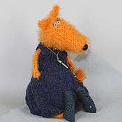 Куклы и игрушки ручной работы. Ярмарка Мастеров - ручная работа Лиса и ключики. Handmade.