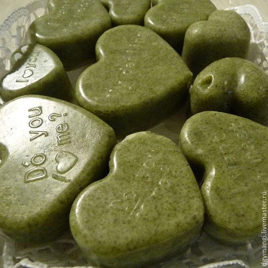 Набор из сердечек с надписями  130 г  -  650 р Замечательный подарок для любителей бани и сауны.