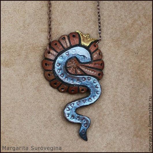 """Кулоны, подвески ручной работы. Ярмарка Мастеров - ручная работа. Купить Кулон """"Змея"""" для родившихся в год Змеи. Handmade. Кулон, амулет"""