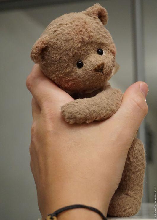 Мишки Тедди ручной работы. Ярмарка Мастеров - ручная работа. Купить Bubby. Handmade. Мишка, медвежонок, тонировка маслом