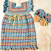 Одежда ручной работы. Ярмарка Мастеров - ручная работа платье для малышей. Handmade.
