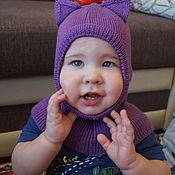 Аксессуары handmade. Livemaster - original item Helmet made of wool blend
