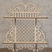 Для дома и интерьера handmade. Livemaster - original item Shelf Vintage. Handmade.