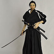 """Куклы и игрушки handmade. Livemaster - original item Фарфоровая шарнирная кукла """"Асикага Масахиро"""". Handmade."""